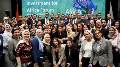 صورة الدكتورة سحر نصر تحتفل بنجاح منتدى أفريقيا 2019
