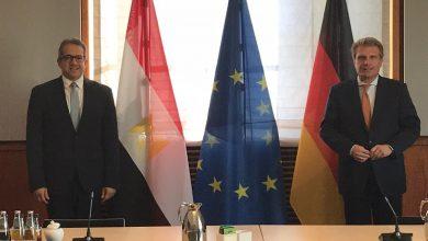 صورة لقاءات مكثفة لوزير السياحة والآثار بالعاصمة الألمانية برلين لدفع الحركة السياحية إلى مصر