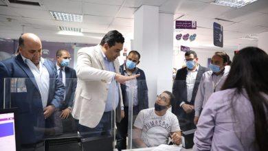 صورة الرئيس التنفيذي للمصرية للاتصالات يتفقد سير العمل بالإسكندرية ويثني على أداء العاملين