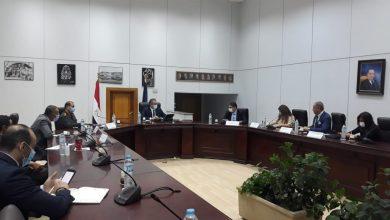 صورة وزير السياحة والآثار يناقش الاستعدادات النهائية لموكب المومياوات الملكية