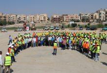 صورة رئيس جهاز مدينة ٦ أكتوبر يشهد اصطفاف المعدات استعدادا لاستقبال موسم الشتاء