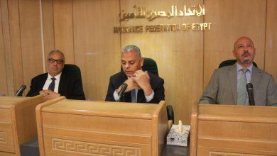 """صورة """"شكيب""""و""""ابوالمجد""""يشيدان بأهمية القطاع الخاص في تطبيق منظومة التأمين الصحي الشامل"""