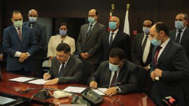 """صورة """"القابضة للنقل"""" و""""القومية لسكك حديد مصر"""" توقعان بروتوكول تعاون لإنشاء شركة مشتركة للنقل متعدد الوسائط للبضائع"""