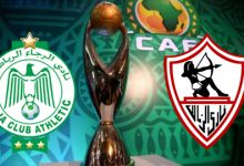 صورة بث مباشر … مباراة الزمالك والرجاء المغربي بدوري أبطال افريقيا