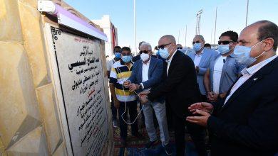 صورة وزير الإسكان ومحافظ جنوب سيناء يفتتحان دار مناسبات بقرية الجبيل و60 منزلا بدويا بمدينة طور سيناء