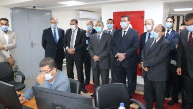 صورة وزير الكهرباء والطاقة المتجددة يفتتح المشروع القومي للبنية التحتية للعدادات الذكية بمصر