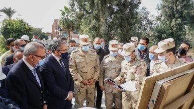 صورة وزير السياحة ورئيس الهيئة الهندسية للقوات المسلحة يتفقدان المتحف القومي للحضارة المصرية