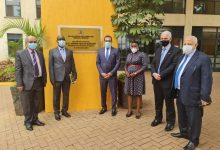 """صورة نائب وزير الإسكان ورئيس """"المقاولون العرب"""" يشاركان فى حفل تكريم الشركة بـ""""أوغندا"""""""
