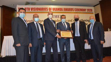 """صورة """"المقاولون العرب"""" تفوز بشهادة أفضل شركة مقاولات فى أوغندا للعام الثالث على التوالى"""