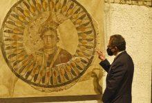 صورة العنانى يتفقد متحف عواصم مصر بالعاصمة الإدارية الجديدة