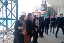 صورة القنصل العام الفرنسي  بالإسكندرية والوفد المرافق لها يتفقدون مشروعات مدينة العلمين الجديدة