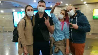 صورة مجموعة من المدونين من أوكرانيا في زيارة تعريفية إلى مصر