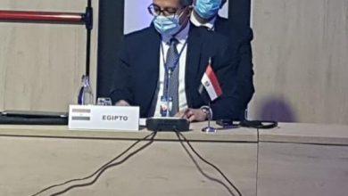 صورة وزير السياحة والآثار يشارك في لجنة الأزمات بمنظمة السياحة العالمية بمدري