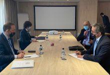صورة وزير السياحة والآثار يلتقي بكبار المسؤلين بالحكومة الإسبانية