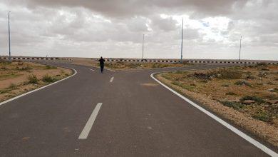 صورة وزير الإسكان: الانتهاء من تنفيذ 82 كم طرق غرب مدينة مرسى مطروح لربط التجمعات السكانية بالطرق الرئيسية