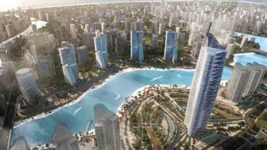 صورة الجزار وسفيرا مصر والصين يشهدون توقيع عقد تصميم وتنفيذ 5 أبراج سكنية بمدينة العلمين الجديدة