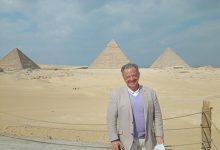 صورة منطقة آثار الهرم تستقبل رئيس الاتحاد الدولي لكمال الأجسام