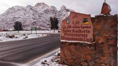 """صورة الحزار يتابع الجدول الزمنى لتنفيذ مشروع """"جبال سيناء .. موقع التجلى الأعظم بمدينة سانت كاترين"""""""
