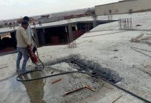 صورة أمين غنيم : إزالة سقف دور كامل مخالف بامتداد غرب الجولف بالتجمع الثالث