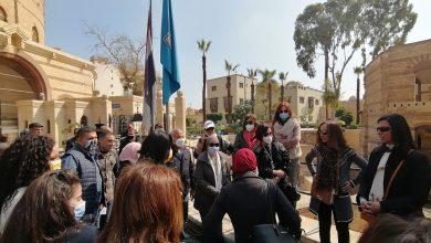 صورة غادة شلبي:تتفقد تطوير الخدمات السياحية بمنطقة مصر القديمة