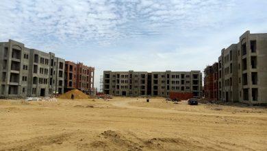 صورة الجزار:جارٍ الانتهاء من الهيكل الخرسانى  لـ٥١٢ وحدة بالإسكان المتميز بمدينة الفشن الجديدة