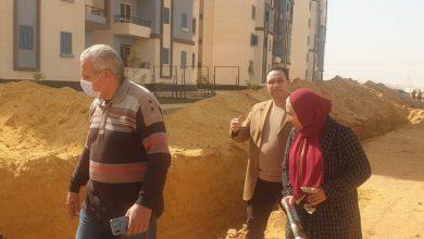 """صورة سئولو جهاز """"حدائق العاصمة"""" يتفقدون 29496 وحدة سكنية بمبادرة الرئيس """"سكن كل المصريين"""""""