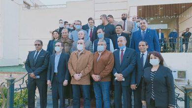 صورة وزيري السياحة  والطيران المدني يلتقيان عدد من أعضاء مجلسي النواب والشيوخ بمحافظة سوهاج