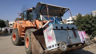 صورة الجزار:يكلف أجهزة المدن الجديدة بمواصلة حملات إزالة المخالفات