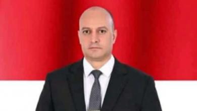"""صورة """"محمود داخلية"""" يهنئ """"عصام جمال""""لتولية منصب عميد كلية التربية الرياضية"""