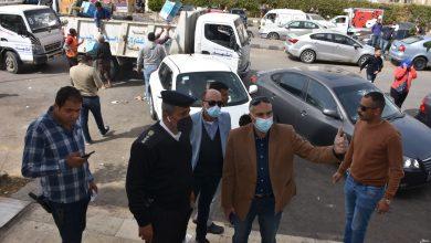 صورة امين غنيم : يقود حملة مكبرة لضبط المخالفات ورفع الإشغالات بالتجمع الأول