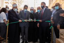 صورة افتتاح قبة ضريح الإمام الشافعي بعد حوالي ٥ أشهر من افتتاح جامع الامام الشافعي الملاصق لها