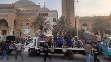 صورة عادل النجار:يقود حملة لضبط المخالفات ورفع الإشغالات بمنطقة الحصري