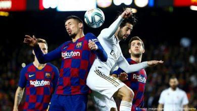 صورة بالفيديو ملخص فوز ريال مدريد علي برشلونة 1/2