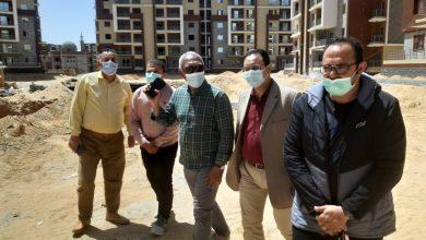 """صورة مسئولو """"الإسكان"""" يتفقدون سير العمل بمشروعات  مدينة الشروق"""