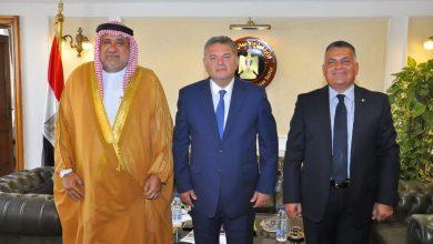 صورة وزير قطاع الأعمال العام يلتقي رئيس الاتحاد العربي للاستثمار والتطوير العقاري لبحث فرص التعاون*