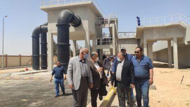 """صورة مسئولو """" الإسكان"""" يتفقدون الوحدات السكنية ومشروعات المرافق والطرق بمدينة السادات"""
