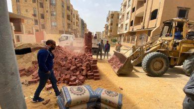 صورة أمين غنيم:يؤكد استمرار حملات إزالة المخالفات والتعديات بالتجمعات الثلاثة بالقاهرة الجديدة