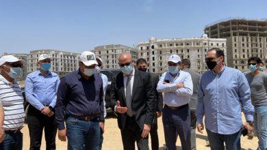 """صورة وزير الإسكان يتفقد الحى السكني الخامس """"جاردن سيتي الجديدة"""" والحى الحكومى بالعاصمة الإدارية الجديدة"""