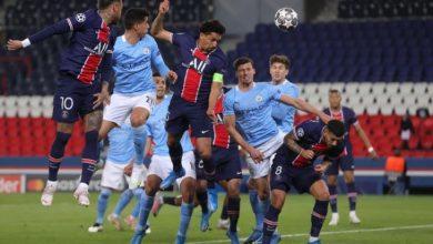 صورة ملخص تأهل مانشسترسيتي ضد باريس سان جيرمان وهدفي رياض محرز