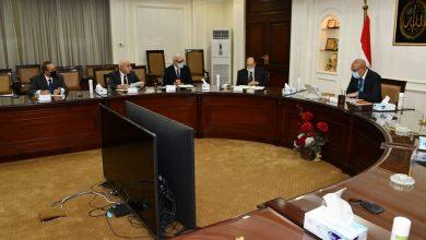 صورة الجزار يلتقى رئيس المجلس العربى للمياه لبحث المشاركة فى المنتدى العربى الخامس للمياه