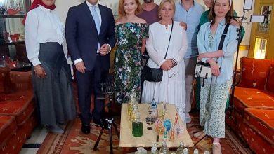 صورة وزارة السياحة والآثار تقوم بتنظيم زيارة تعريفية لوفد إعلامي من التليفزيون الروسي الرسمي الى مصر
