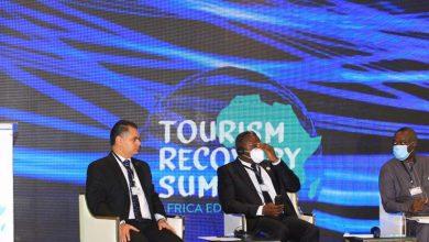 صورة الرئيس التنفيذي للهيئة المصرية العامة للتنشيط السياحي يشارك في القمة الدولية لتعافي السياحة بكينيا