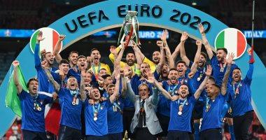 صورة بالفيديو إيطاليا تتوج بيورو 2020 علي حساب إنجلترا بركلات الترجيح