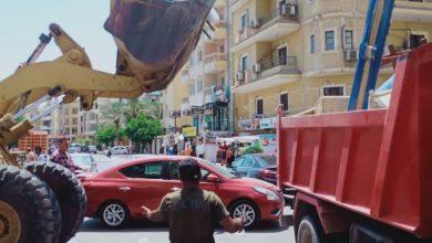 صورة الجزار: حملات بمدن 6 أكتوبر والشروق وبدر وحدائق العاصمة لإزالة الإشغالات وضبط المخالفات