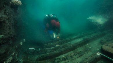 صورة البعثة الأثرية المصرية الفرنسية تكتشف حطام سفينة حربية من العصر البطلمي