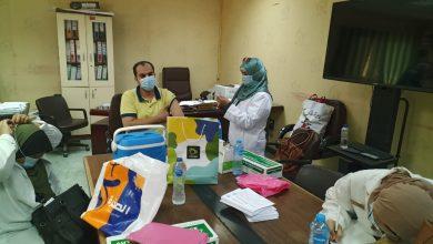 صورة رئيس جهاز العبور: فرق طبية لتطعيم العاملين بالجهاز والمصالح الحكومية بالمدينة للوقاية من فيروس كورونا