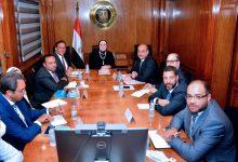 صورة وزيرة التجارة والصناعة  تستعرض مع بعثة البنك الدولي تطورات ومعدلات تنفيذ برنامج التنمية المحلية بمحافظات الصعيد